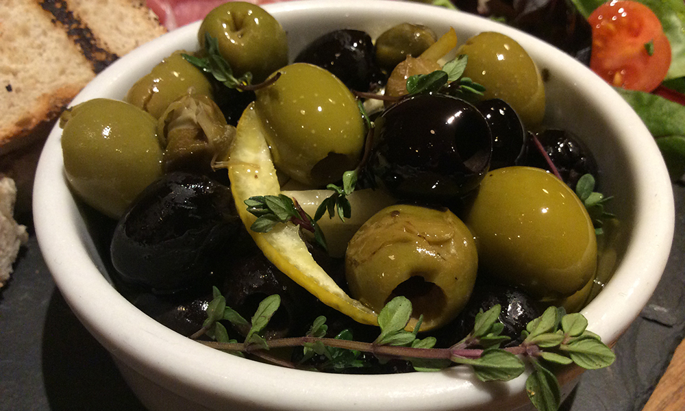 Delicious Italian Olives